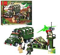 Конструктор BRICK 811 Военный лагерь (военный грузовик), фото 1