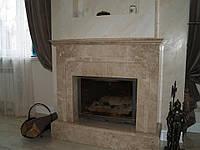 Камины, облицовка каминов натуральным камнем, мрамором