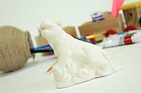 Детские товары для творчества. Тигр на постаменте.