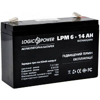 Батарея к ИБП LogicPower LPM 6В 14 Ач (4160)