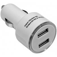 Зарядка DEFENDER Авт. адаптер ECA-02 2 port USB ->5V/1А+2.1А