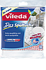 Vileda Das Spültuch mit 30% Microfaser - Губка для мытья посуды с микроволокнами, 2 шт