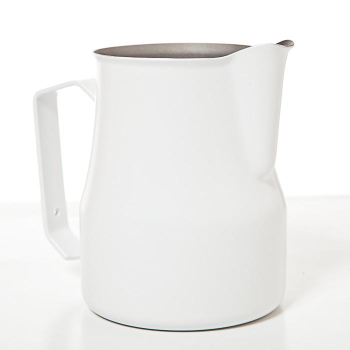 Профессиональный питчер для взбивания молока Motta Europa 0,35 л Белый