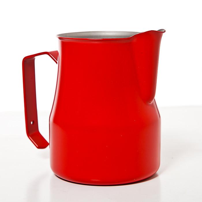 Профессиональный питчер для взбивания молока Motta Europa 0,35 л Красный