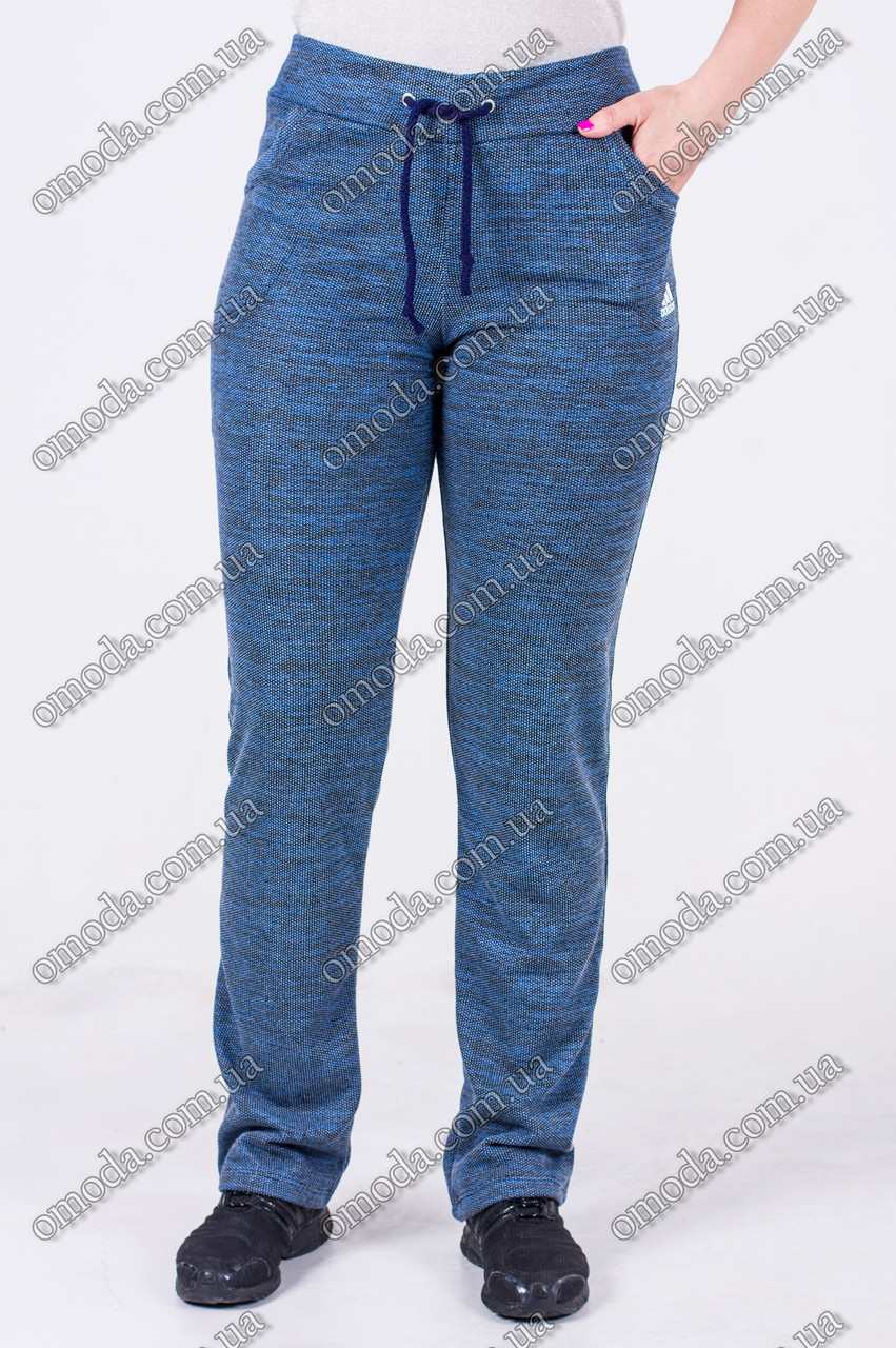 Молодежные спортивные штаны копия ADIDAS DARK BLUE