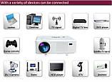 Проектор Excelvan CL720 LED HD,3000LM,ТВ Тюнер, фото 5