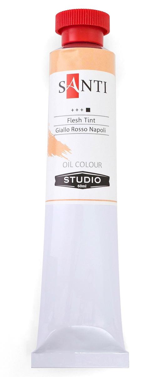 Краска масляная Santi Studio Неаполитанский жёлто-красный