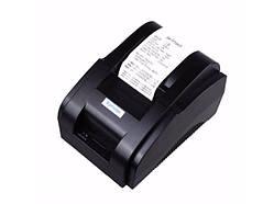 Термопринтер POS чековый принтер XP-58IIH 58мм