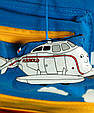 Яркий детский рюкзак Самолет Traum 7005-40 2 л, фото 2