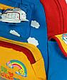 Яркий детский рюкзак Самолет Traum 7005-40 2 л, фото 4