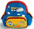 Яркий детский рюкзак Самолет Traum 7005-40 2 л, фото 5