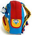 Яркий детский рюкзак Самолет Traum 7005-40 2 л, фото 6