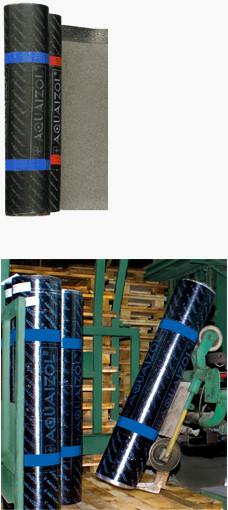 Еврорубероид Акваизол АПП-СХ-3,0, стеклохолст, 15м.кв.