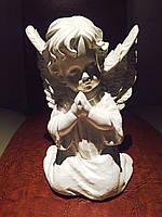 Статуэтка Ангел  молящийся белого цвета №11