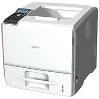 Монохромный лазерный принтер Ricoh Aficio SP 5200DN.  Формат А4, дуплекс.