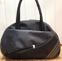2f52b536b28f Спортивная сумка для фитнеса Adidas, Адидас черная с серым