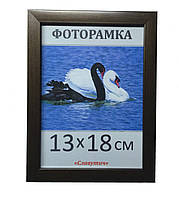 Фоторамка,  пластиковая,  13*18,  рамка для фото, картин, дипломов, сертификатов, 1611-16