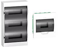 Schneider Electric Щит распределительный навесной белый дверь прозрачная на 36 модулей IP40 Easy9