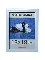 Фоторамка,  пластиковая,  13*18,  рамка для фото, картин, дипломов, сертификатов, 1611-14