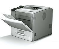 Монохромный лазерный принтер Ricoh Aficio SP 5210DN.  Формат А4, дуплекс.