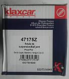 Опора шаровая несущий  направляющий шарнир  Renault  Logan, 7574003 KLAXCAR FRANCE 47175z, фото 3