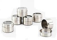 Комплект магнитных банок для специй 6 пр. EZ-0011