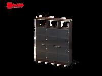 Шкаф Ньюмен (правый) со стеклом 1502х400х1882 см