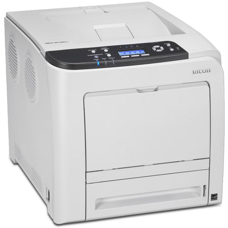 Полноцветный принтер Ricoh Aficio SP C320DN. Формат А4, дуплекс.