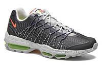Мужские кроссовки Nike Air Max 95 Ultra черно-серые