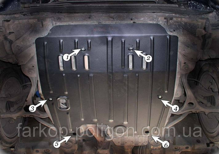 Захист картера Acura TL v-3.2 з 2003-2008 р.