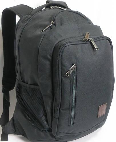 Удобный мужской городской рюкзак Bagland 29 L 532662 чёрный