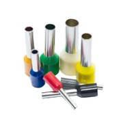Кабельные наконечники втулочные (трубчатые, гильзовые) с изоляцией НВ (Е)