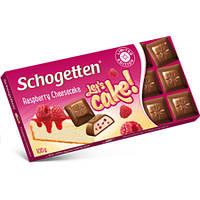 "Шоколад ""Schogette Raspberry Cheescake""(Шогеттен малиновый чизкейк), Германия, 100г"