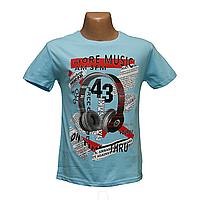 Молодежная футболка MUSIC Турция 2493