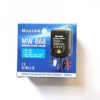 Универсальная зарядка MastAK MW-868 для Ni-Cd/Ni-Mh аккумуляторов от 1.2V до 12V