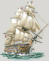 Рисунок на канве для вышивки нитками 01014 Барк