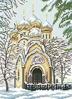 Рисунок на канве для вышивки нитками 81794 Новодевичий монастырь