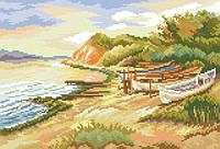 Рисунок на канве для вышивки нитками 81904 Южный пейзаж
