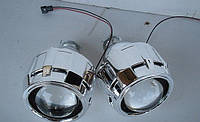 Линзы G5 Morimoto  под H4 / H7 (лампа Н1) + комплект для монтажа