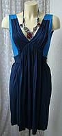 Платье женское летнее модное легкое вискоза стрейч мини бренд French Connection р.40 6135а