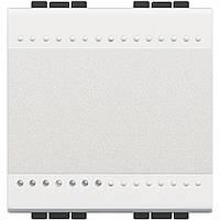 Выключатель 2 модуля белый Livinglight Белый