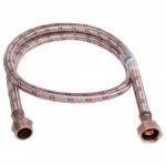 Шланг для водопровода 120 ГШ в нержавеющей оплётке