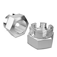 Гайка DIN935 сталь/цинк М6