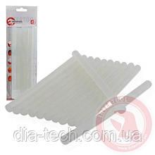 Комплект прозорих клейових стрижнів 11,2 мм x 200 мм, 12 шт INTERTOOL RT-1020