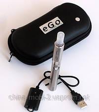 Електронна сигарета EVOD 900 мАч, silver + чохол eGo, фото 2