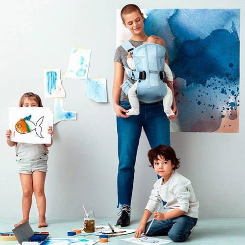 Watercolor Collection от Babybjorn! 2016