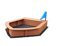 Песочница детская лодочка sb-014