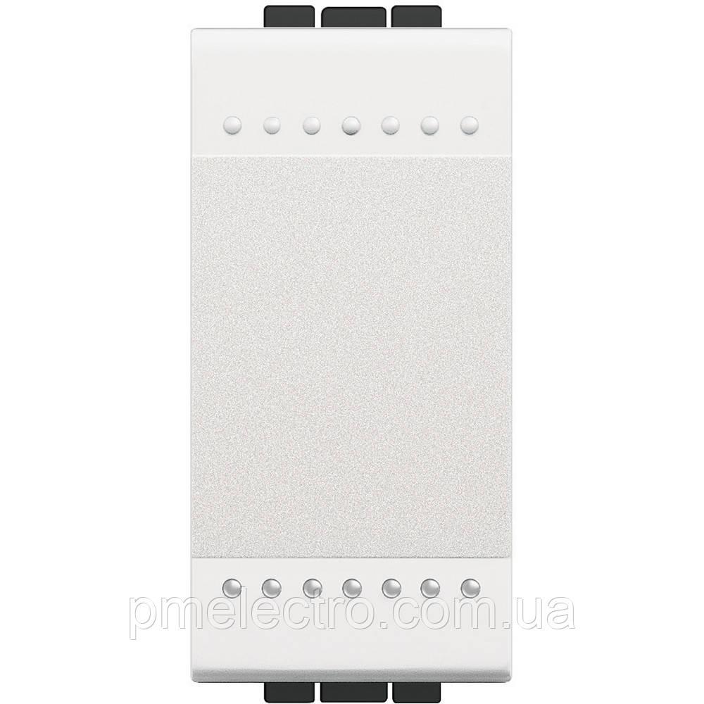 Выключатель 1 модуль белый Livinglight