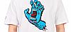 Футболка мужская с принтом Santa Cruz Screaming Hand , фото 2