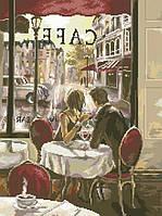 Рисунок на канве для вышивки нитками 82102 Завтрак в Париже